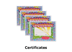 Educational Products: Certificates Category